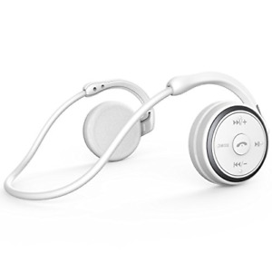 Small Bluetooth Headphones Wrap around Head - Sports Wireless Headset with Built