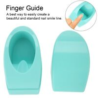 Manicure Nail Dip Molding Container Nail Dipping Powder Tray French Tips Guide g