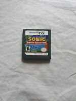 Sonic Classic Collection Nintendo DS 2010 SEGA Video Game Cartridge Only Tested