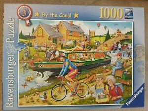 RAVENSBURGER - BY THE CANAL - 1000 PIECE JIGSAW