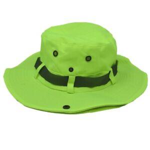 Summer Bucket Boonie Hat Neck Flap Cover Sun Wide Brim Fishing Garden Hiking Cap