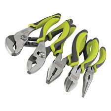 Craftsman Evolv 5 Pc. Piece Green Pliers Tools Set Needle Nose Plier cutters