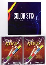 Color Stix by Eric Stevens - New Magic Trick with Instructional DVD
