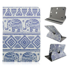 """FOR Asus - TF300T - 10.1"""" inch Tablet Elephant Tribal Indian Aztec CASE COVER"""
