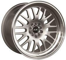 XXR 531 17X8 Rims 5x100/114.3 +35 Silver Wheels Fits Civic Mazda 3 6 TC 2010+