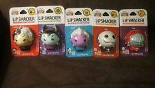 Disney NIGHTMARE BEFORE CHRISTMAS TSUM TSUM set of 5 Lip Smacker