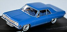 Opel Diplomat A Coupe V8 1965-67 blue blue 1:43