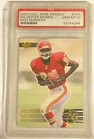 SYLVESTER MORRIS 2000 Collector's Edge Graded High Numbers #163 Rookie RC PSA 10