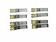 LOT 8X Juniper/Molex 740-014132 SFP-1GE-T 1GB SFP Copper 1000BASE-T Transceivers