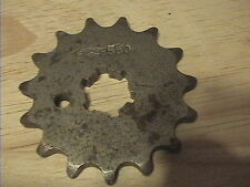 YAMAHA DT80 LC LC2 5T8 36N (83-94) 15 TOOTH FRONT SPROCKET 550-15 CHIRAVALLI