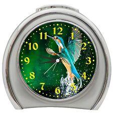 Kingfisher Alarm Clock Night Light Travel Table Desk