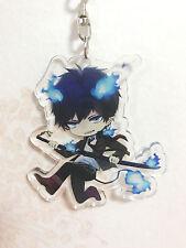Ao no Exorcist Blue Exorcist Okumura Rin Acrylic Keychain Keyring Strap