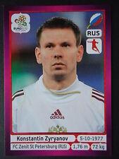 Panini 125 Konstantin Zyryanov Russland EURO 2012 Poland - Ukraine
