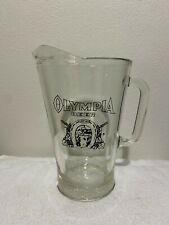Olympia Beer Pouring Pitcher-Surface chip