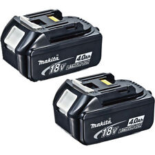 2 pcs x Makita Battery BL1840 Genuine LXT 18V Li-ion 4.0ah Battery Brand New