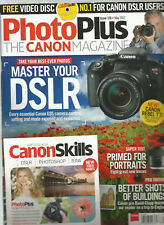 PHOTO PLUS THE CANNON MAGAZINE #126 MAY 2017, FREE DISC INCLUDED.