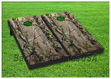 VINYL WRAPS Cornhole Boards DECALS Camo Nature REALTREE Hunting Game Stickers131