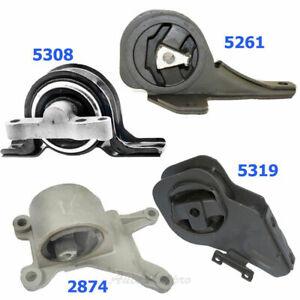 M1229 Motor & Trans Mount For 02-05 Pontiac Grand AM 2.2L 5308 5261 2874 5319