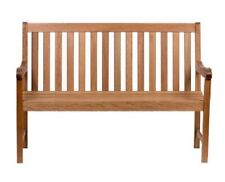Outdoor Indoor Garden Bench Patio Chair Furniture Wooden Sturdy Strong Large