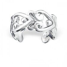 925 Sterling Silver Heart Ear Cuff - Boxed