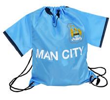 Official Manchester City Football Club Shirt School Gym Bag Sports Drawstring