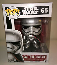 Funko Captain Phasma POP Star Wars Ep7 Force Awakens Vinyl Figure NEW #65
