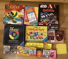 brettspiele gesellschaftsspiele paket (Sitting Ducks, Pink Storrys, Phase10 Uvm)