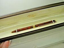 Vintage S T Dupont Laque De Chine Ball Pen Boxed D1US26 Working. Blue Ink