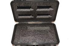 """Precut foam insert for Pelican â""""¢ 1170 case fits Glock 26 27 43 + Streamlight Tlr"""