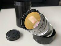 Jupiter 11 M39 Lens 4/135 Soviet Russian Lens LEICA, FED, ZORKI SCREW MOUNT