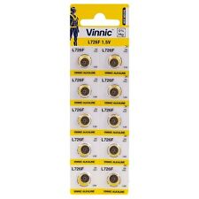 20 x Vinnic Watch Batteries Alkaline L726 AG2 G2 396 RW411 SR59 SR726 L726