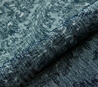 5m DESIGNER THICK HEAVY SOFT  DAMASK UPHOLSTERY SEATING CURTAIN CHARCOAL FABRIC