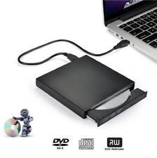 External CD/DVD drive Portable USB 2.0 optical burner/writer/player Laptop/Mac