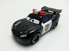 Mattel Disney Pixar Cars Police Lightning McQueen Diecast Toy Car 1:55 Loose New