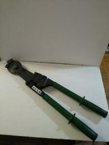 GREENLEE Ratchet ACSR Cable Cutter 757 (CGM015500)