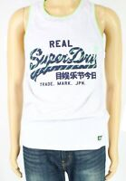 Superdry Mens Tank Top Gray Size Large L Graphic Logo-Print Sleeveless $29 011
