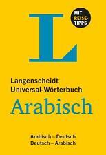 Langenscheidt Universal-Wörterbuch Arabisch (2014, Kunststoffeinband)