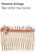 (1) Venessa Arizaga Bee-Utiful Hair Comb Jewelry Accessories Nordstrom RARE