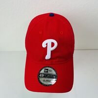 Philadelphia Phillies New Era Core Fit 49FORTY Fitted Hat - Red Size XL 7 3/4