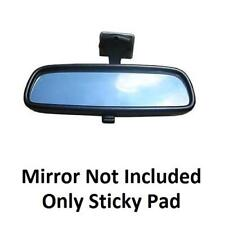 Three Interior Rear View Mirror Pads - Self Adhesive - Double Sided Sticky Mount