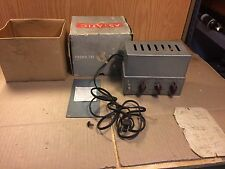 Vintage Astatic Equalizer Amplifier EA-2 Original Box Western Electric License