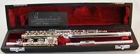 NEW Gemeinhardt 3OB Silver plated Flute, Open-Hole, B-foot, Offset G - 30B NICE!