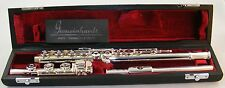 NEW Gemeinhardt 3OB Silver plated Flute, Open-Hole, B-foot, Offset G - 30B NICE!