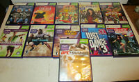 Lot of 11 diff Kinect Games  for Xbox 360 Kinect  in VG Condition.  Fantasia