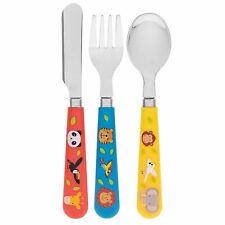 Little Stars Zoo Animals Design Children's Cutlery Set