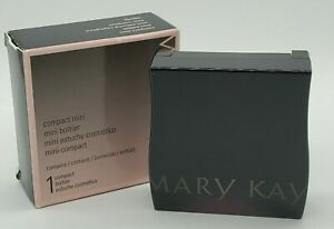 New In Box EMPTY Mary Kay Refillable Magnetic Mirrored Compact Mini #040752