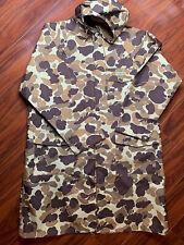 Hodgman Camo Hunting Jacket Large Mens Brown Multicolor Size S Full Zip Long