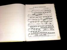 la bella capriciosa polonaise partition piano 1870 Hummel