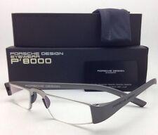 New Reader! PORSCHE DESIGN Eyeglasses P'8801 F 48-20 +1.50 Silver Frame Readers