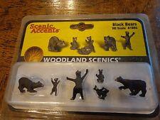 Woodland Scenics Ho #1885 - Black Bears
